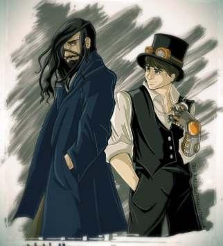 Kazuaki and Nicholai