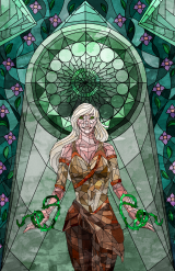 Umbriel (gift art from my brother, artist unknown)